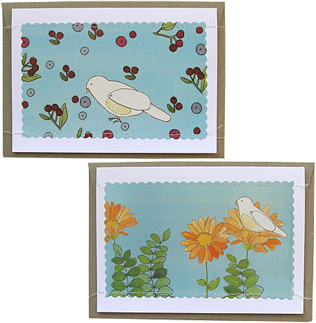 Alfred Berry & Alfred Flower Gift Cards by Poppies for Grace