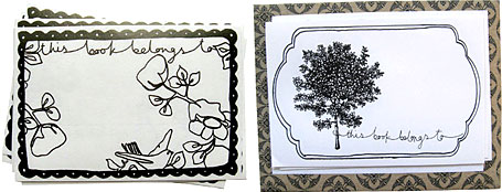 Bookplates by Poppies for Grace