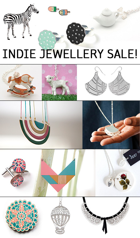 20% off selected jewellery from the indie art & design online store - 20% off Polli, Love Hate, Meow Girl, Bird of Play, a skulk of foxes, and Iggy & Lou Lou