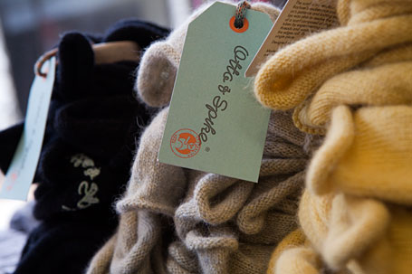 Otto and Spike scarves at Sherman and Betty, Katoomba, Blue Mountains NSW