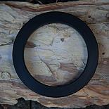 Resin Bangle - Black - designed in Australia by mooku
