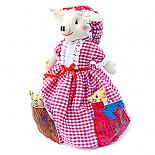 Mummy Pig - Three Little Pigs 3-Way Storybook Doll Small - designed in Australia by Growing World