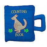 Australian Counting Book Bag Soft Activity Book designed in Australia by Growing World