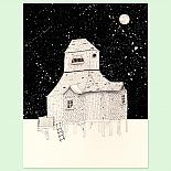 Night House A4 Print by Amy Borrell