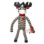Christmas Moose with Snowman Large designed in Australia by Micky & Stevie