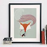 Fantastic Fox A3 Print by I Ended Up Here