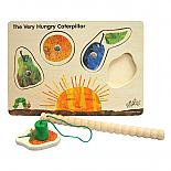 The Very Hungry Caterpillar Wooden Puzzle Magnetic Game designed in Australia by Fun Factory