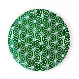 Pocket Mirror Green Star Pattern by Love Hate