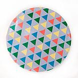 Pocket Mirror Triangle Pattern by Love Hate