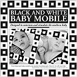 Black and White Baby Mobile by Tina Matthews - Front of packaging