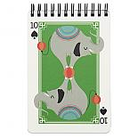 10 of Spades Elephant Notebook by I Ended Up Here