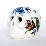 Floral Skull Small by Iggy and Lou Lou