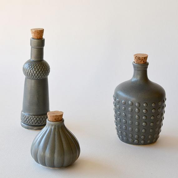 Charcoal Ceramic Bottles designed in Australia by Love Hate