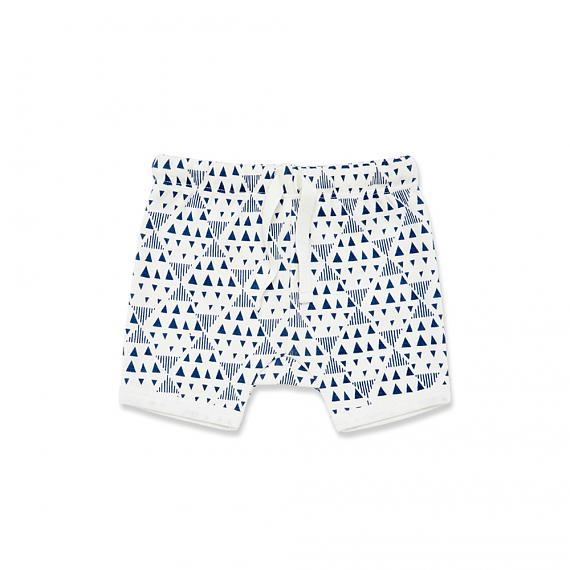 Geometric Baby Shorts designed in Australia by Wilson & Frenchy