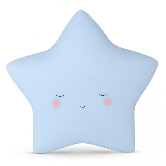 Little Dreams Little Star - Baby Blue - designed in Australia by delight decor