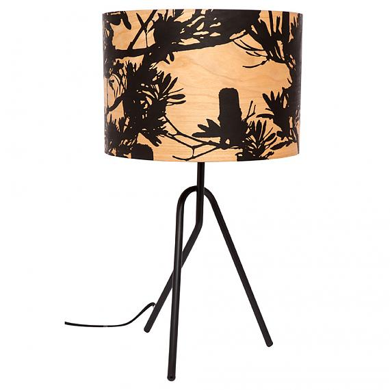 Coastal Banksia Timber Table Lamp designed in Australia by Micky & Stevie