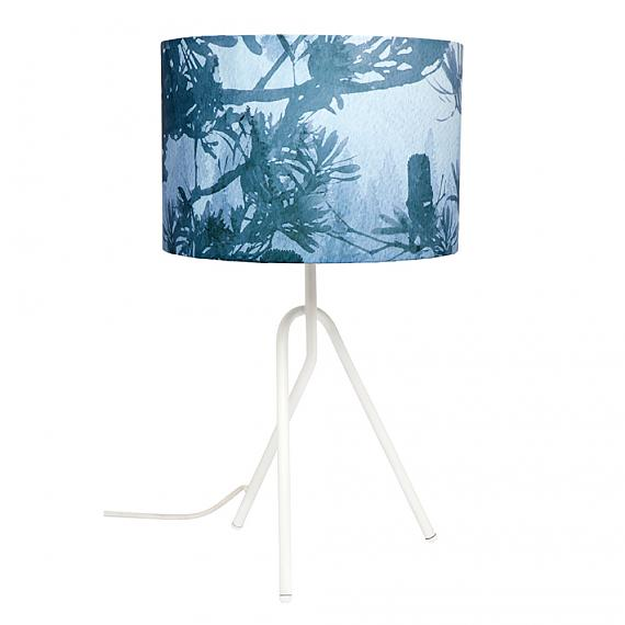 Blue Banksia Table Lamp designed in Australia by Micky & Stevie