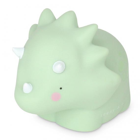 Triceratops Little Light - Pastel Green - designed in Australia by delight decor