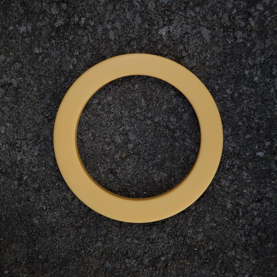 Resin Bangle - Mustard - designed in Australia by mooku