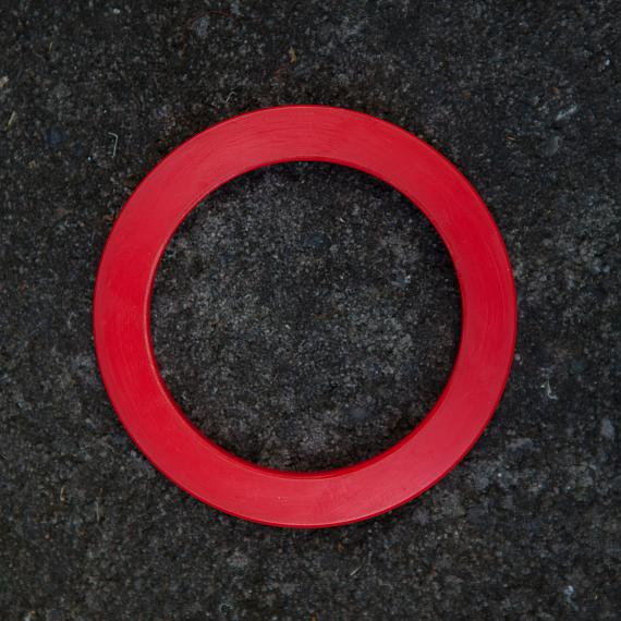 Resin Bangle - Red - designed in Australia by mooku