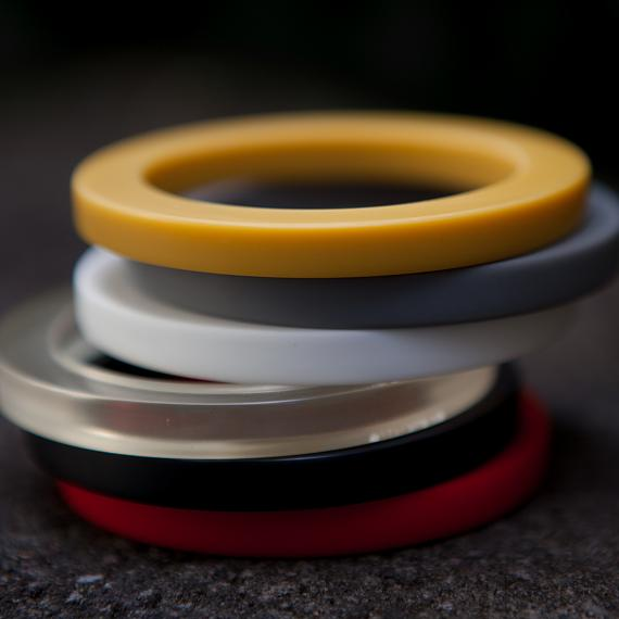 Resin Bangles - designed in Australia by mooku