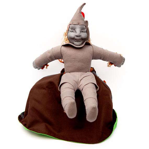 Tin Man - Wizard of Oz Soft Fabric 3-Way Storybook Doll Large - designed in Australia by Growing World