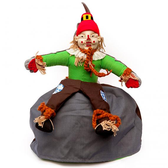 Scarecrow - Wizard of Oz Soft Fabric 3-Way Storybook Doll Large - designed in Australia by Growing World