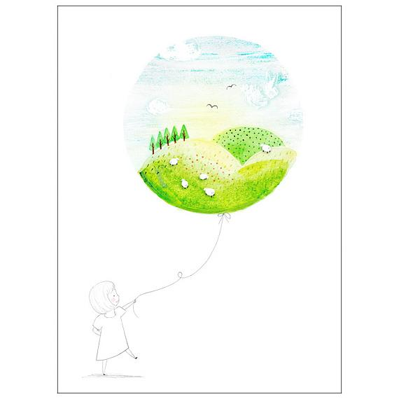 Daylight A3 Print made in Australia by Amy Borrell