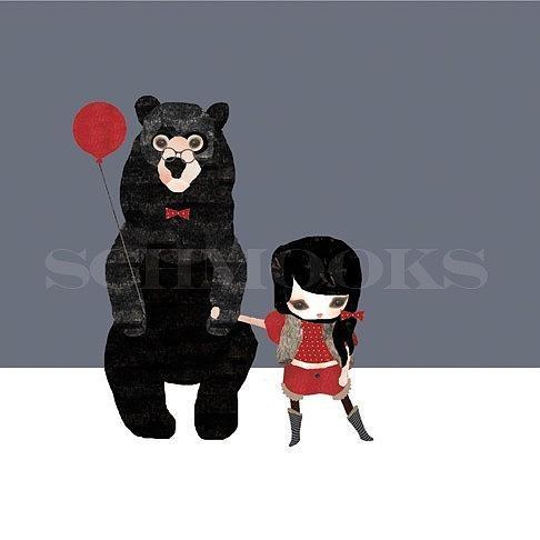We're Going on a Bear Hunt Print by Schmooks