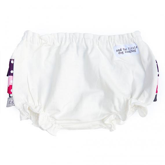 Front of Frilly Bloomers Mulberry designed in Australia by and the little dog laughed