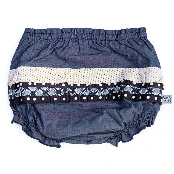 Back of Frilly Bloomers Sunshine Maisy designed in Australia by and the little dog laughed