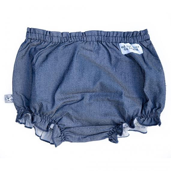 Front of Frilly Bloomers Sunshine Maisy designed in Australia by and the little dog laughed