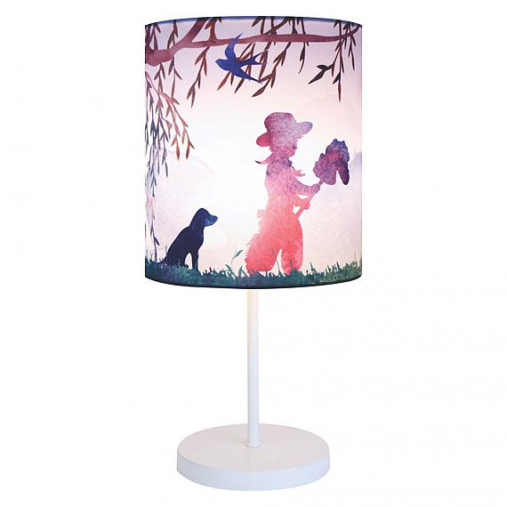 Cowboy Print Table Lamp by Micky and Stevie