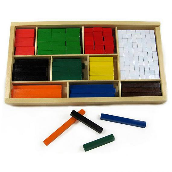 Cuisenaire Rods designed in Australia by Fun Factory