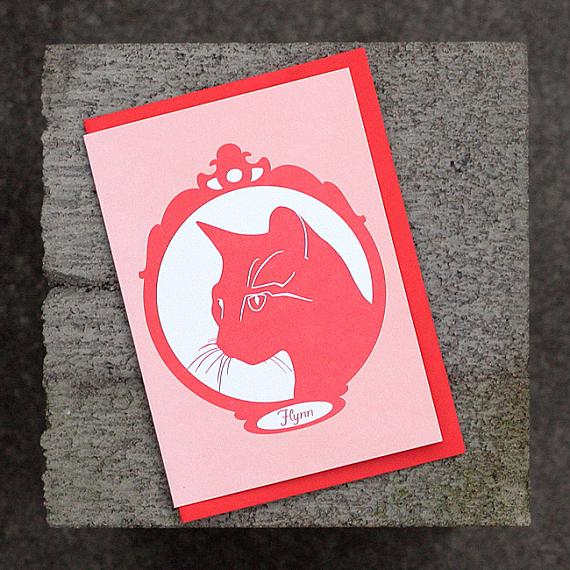 Flynn Greeting Card by Non-Fiction