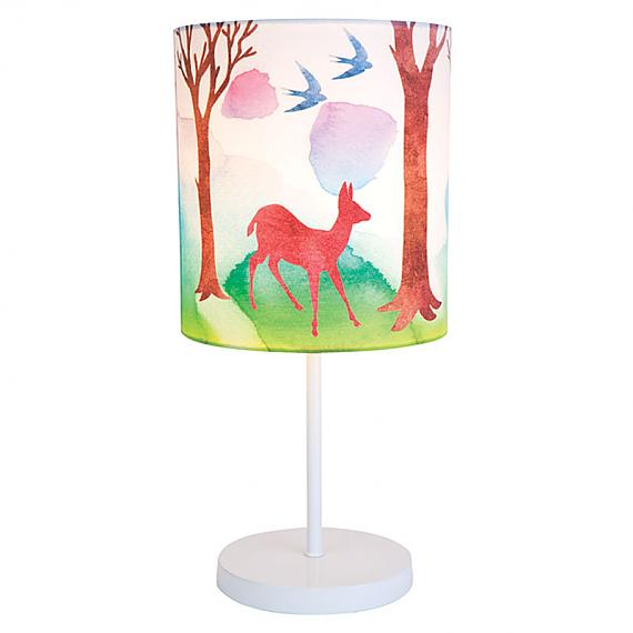 Forest Print Lamp by Micky & Stevie