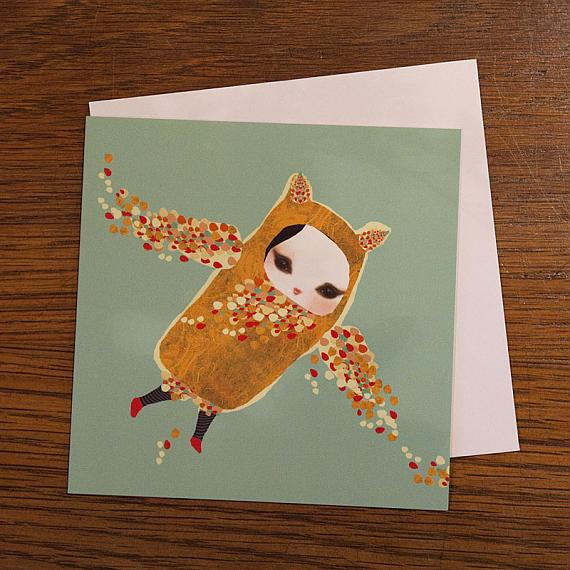 Her Red Shoes Greeting Card by Schmooks