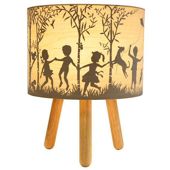 In The Woods Timber Table Lamp designed in Australia by Micky & Stevie