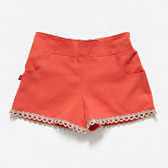 The Lolly Pop Short - Rose by Knuffle Kid