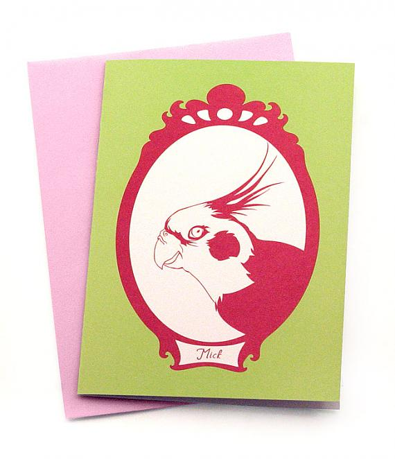 Mick Greeting Card by Non-Fiction