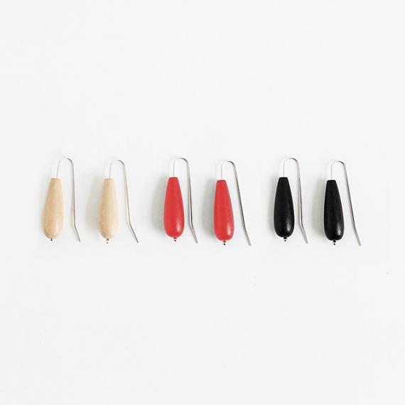 Seed Earrings - handmade in Melbourne by mooku