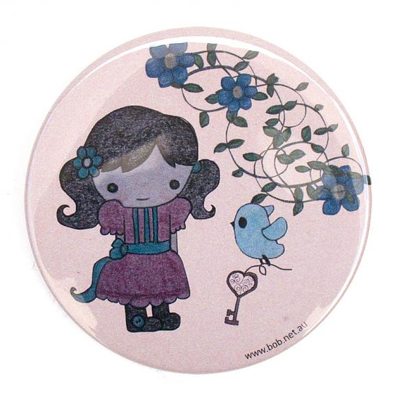 Secret Garden Pocket Mirror by Bob Boutique