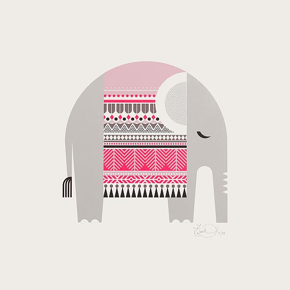 Sleeping Giants Limited Edition Screen Prints designed and handmade in Australia by Ella Leach Designs