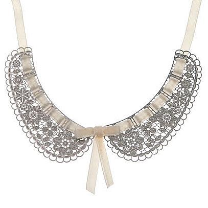 Peter Pan Stainless Steel Collar - Ivory by Polli