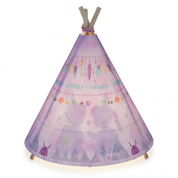 Teepee Table Lamp - Pinks - designed in Sydney by Micky & Stevie