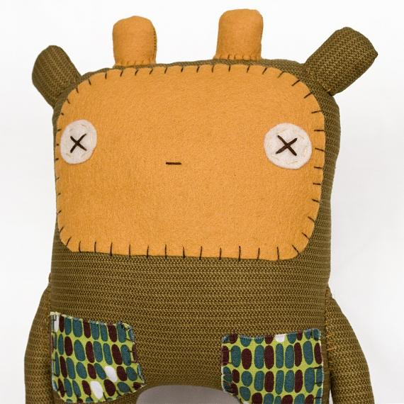 Tomi the Giraffe Softie by herbert & friends